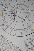 esoteric horoscope medicine meditation recovery - stock photo