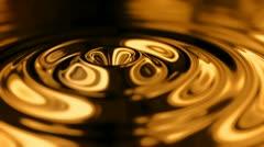 Abstract metallic ripples - HD animation loopable - stock footage