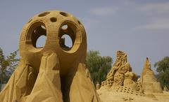 design kehys art kuvitus hiekka työtä veistos - stock photo