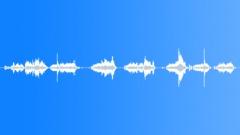 metal cabinet creek push - sound effect