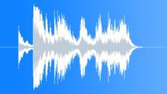 Metal hubcap spins Sound Effect