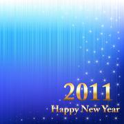 Stock Illustration of happy new year 2011