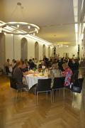 party design hall table indoor festivity society - stock photo