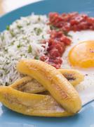 Cuban-Style Rice Stock Photos