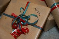 Present for niklas gift component depict design Stock Photos