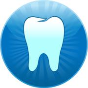 Icon tooth Stock Illustration