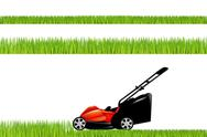Stock Illustration of lawnmower