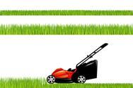 Lawnmower Stock Illustration