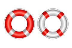 Life buoy Stock Illustration