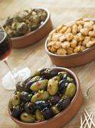 Selection of Tapas - stock photo