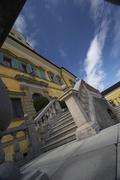 citadel hellbrunn sight castle landmark salzburg - stock photo