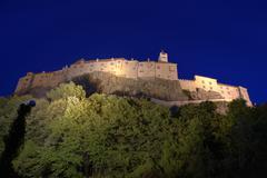 castle evening shot sight landmark southern - stock photo