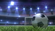 Football background Stock Footage