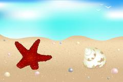 Stock Illustration of seaside