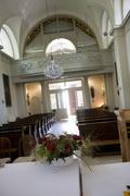 church interior view religion sacral building - stock photo