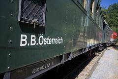 Stock Photo of austrian federal railways excursion nostalgia