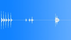 bedrm door knock open - sound effect