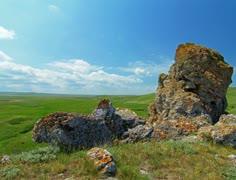 4K mountain landscape Stock Footage