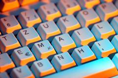 computer technology art broadband data email - stock photo
