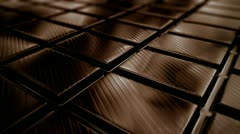 Chocolate loopable animation. Stock Footage