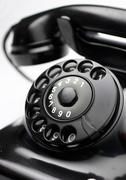 Ancient world old telephone phone adult ancients Stock Photos