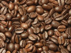Food pattern coffee caffeine bean drink eat Stock Photos