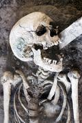Laughing Skeleton Kuvituskuvat