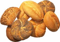 Food bakery bread diversity eat health roll Stock Photos