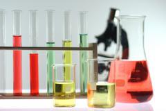 technology art chemistry exam experiment liquid - stock photo
