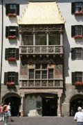 austrian continent europe state golden dachl - stock photo