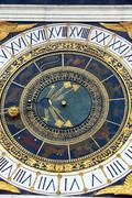 hand astrology astronomy clock education express - stock photo