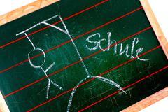 School board completion defect depression exam Stock Photos