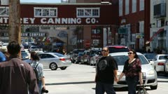 Cannery Row Monterey California - stock footage