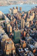 new york city manhattan - stock photo