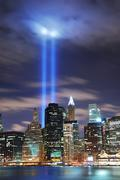 remember september 11. - stock photo