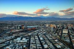 las vegas panorama - stock photo