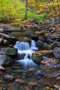 Stock Photo of creek closeup