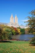 Stock Photo of new york city central park in autumn