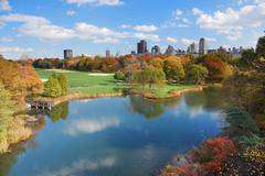 Stock Photo of new york city manhattan central park
