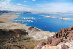Stock Photo of lake mead panorama