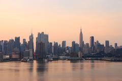 New york city in the morning Stock Photos