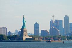 Stock Photo of statue of liberty, new york city