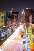 New york city manhattan chinatown Stock Photos