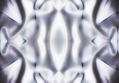 Stock Photo of texture of   silvery silk