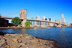 Stock Photo of brooklyn bridge new york city