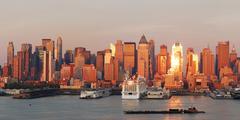 Stock Photo of urban city skyline panorama