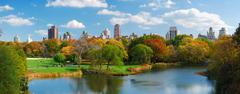 Stock Photo of new york city manhattan central park panorama