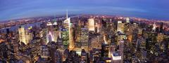 Stock Photo of new york city manhattan times square night