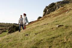 Stock Photo of couple in countryside