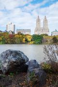 new york city manhattan central park - stock photo